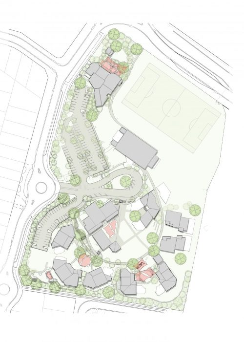St-Clares- Developed master plan